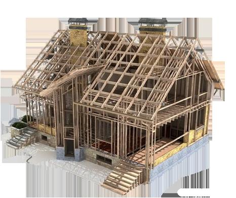hus under bygging